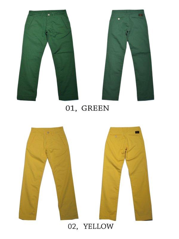 画像2: BASI-K GARMENTS, cropped pants クロップドパンツ
